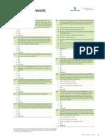 2014 Findex Questionnaire
