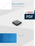 Bosch Mems Inertial Sensor Smi700 Product Info Sheet