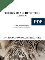 TheoryOfArchitecture