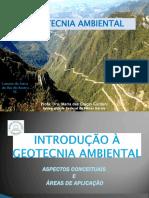 Curso Geotecnia Ambiental - InTRODUÇÃO