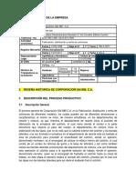 PROCESO PRODUCTIVO DE FABRICA DE COLCHONES