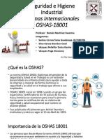 2.6 Normas Internacionales OSHAS-18001