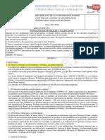 Examen Historia de Espana Selectividad Junio 2018 Solucion