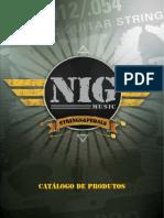 Catalogo NIG Pedal Cordas Strings