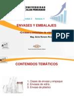 Ayuda 4- Materiales de Envases y Embalajes- Vidrio