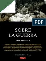 SOBRE LA GUERRA - La Paz Como Imperativo Moral