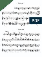Sor - Etude - Op.44 n.7