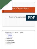 4. Medios de Transmision y Perturbaciones