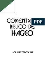 Comentario Bíblico de Hageo (2.0)