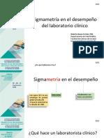 Sigmametria y control de calidad