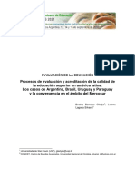 Acreditación en América Latina