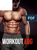 Vshred  Workout Log
