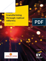 Transforming India through Radical reforms