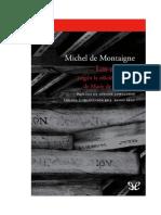 De Montaigne Michel - Ensayos (Edicion De 1595 De Marie De Gournay).pdf