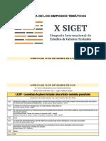 X SIGET