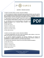 QUESTOES - CP Iuris - Questoes Processo Coletivo I