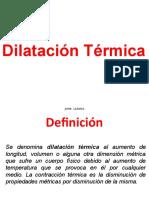 "Dilataciã""n Tã‰Rmica"
