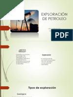 Exploración de Petroleo