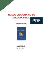 ROSSANO P & RAVASI G & GIRLANDA A - Nuevo  Diccionario de Teología Bíblica, San Pablo, 1990 OCR.pdf
