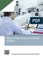 Mean Time between Failure (MTBF).pdf