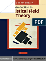 introduction to statical fiel theory