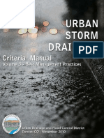Urban Storm Drainage Criteria Manual v.3 - Denver, Colorado