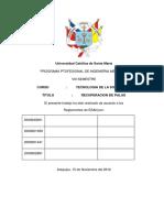 RECUPERACION DE CUCHARONES DE PALAS