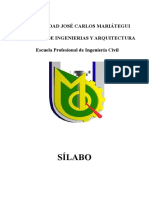 Silabo Calculo IV Civil 2019