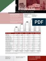 Propane Cylinder Sheet
