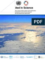United in Science Report