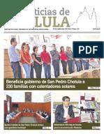 Noticias Cholula 23 de septiembre