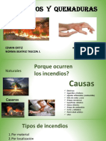 Exposicion de Incendios y Quemaduras