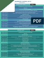 Programa Congreso Caena 2019