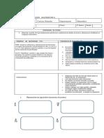 evaluacion de fracciones 4 básico