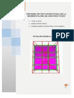 analisis para construcion de cubierta metalica
