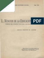revista el monitor de la educacion de 1932