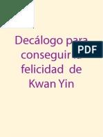 Decalogo de Kwan Yin