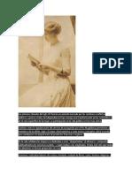 A Partir de La Segunda Mitad Del Siglo XIX Se Reforzó El Ideal Femenino de La Mujer Como Reina Del Hogar