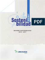 Informe Sostenibilidad Incauca 2016 2017