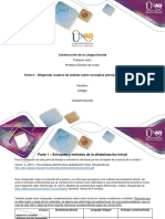 Formato Tarea 2 - Diligenciar Cuadros de Análisis Sobre Conceptos Principales de La Unidad 1