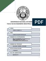 Informe Curvas Equipotenciales Fisica II