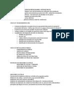Protocolos de Obras Fotovoltaicas