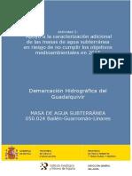 Demarcación Hidrográfica Del Guadalquivir (Bailén-Guarromán-Linares)