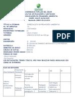 Especializacion en Pedagogia Ambiental- Upc 2019