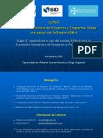 01. Curso Ev. Ec. Con HDM-4 - Guía de Etapa II (1) Presentación PP VNov2018