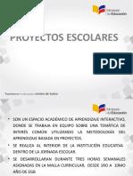 Proyectos Escolares 2015 2016