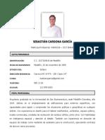 Hoja de Vida Arq. Sebastián Cardona (2019-02)
