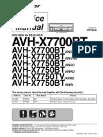 AVH-X7700BT