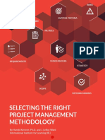 Selecting the Right Pm Methodology