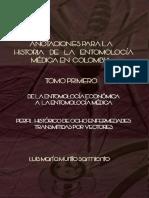 Anotaciones Para La Historia de La Entomología Médica en Colombia - Luis m Murillo s